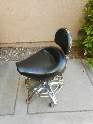 Incredible Harley Davidson Motorcycles Bar Stool 79 96 Picclick Caraccident5 Cool Chair Designs And Ideas Caraccident5Info