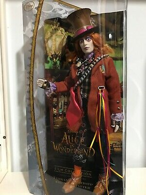 Disney Store Alice In Wonderland Film Collection Dolls NEW Limited