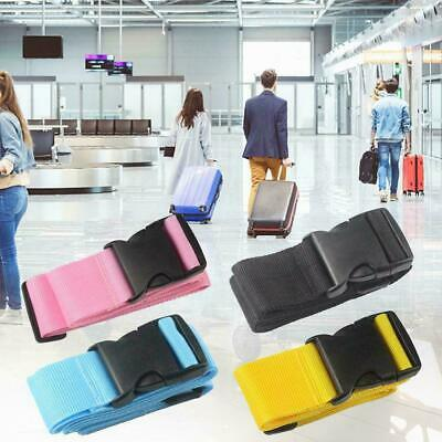 Adjustable Travel Luggage Straps Suitcase Packing Belt Baggage Strap Backpa B3J7