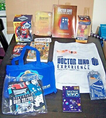 Doctor Who Experience Official Collection From Porth Teigr-Cardiff Bay Museum