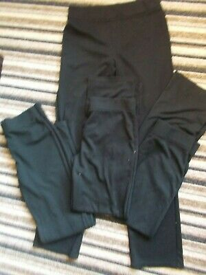 4 Pairs Of Girls Stretch Non Iron School Trousers Age 13/14 Years
