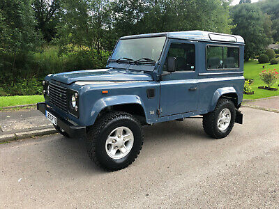 Land Rover Defender 90 County 200tdi Galvanised chassis rebuild 7 seats csw 1993