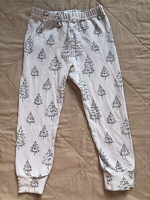 Fred & Noah Grey Christmas Tree Leggings 4-5 years