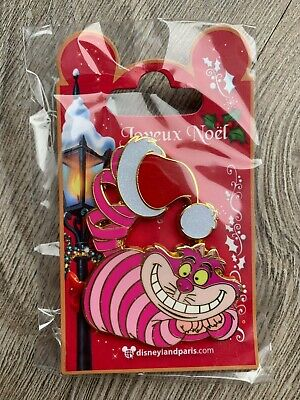 Pin Disney Disneyland Paris Noel Christmas 2019 Cheshire Chat Cat OE