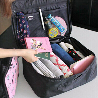 Clothes Travel Storage Bag Pouch Packing Cube Luggage Organizer Stock Latest