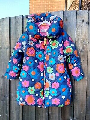 Girls Mim Pi Flower Coat Jacket AGE 6-7 IMMACULATE CONDITION