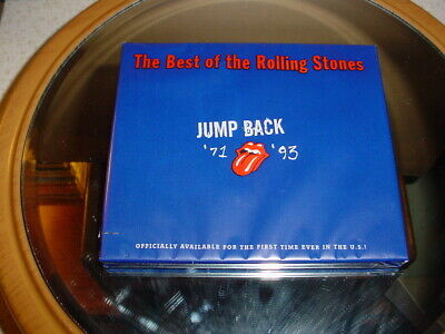 The Best Of The Rolling Stones Cd Jump Back 1971 - 1993 New Sealed