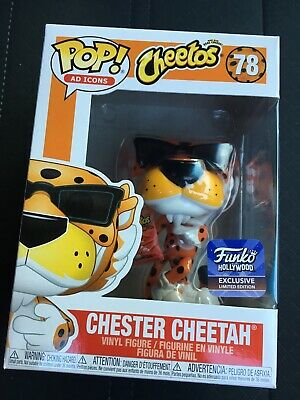 Funko Chester Cheetah Hollywood Exclusive POP #78 RARE HTF Sold Out In Hand