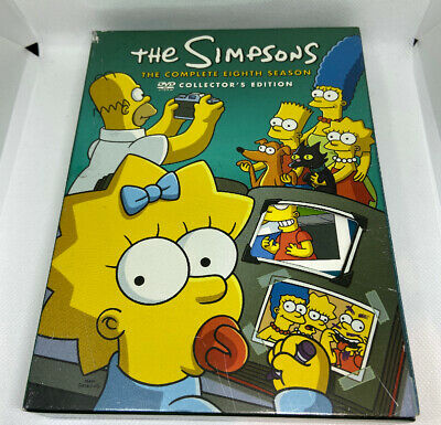 The Simpsons: The Complete Eighth Season DVD