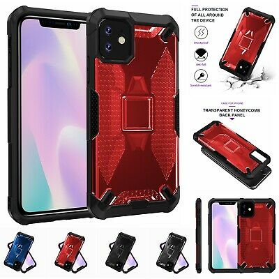 Case For iPhone 11 Pro Max XS Max XR X 6s 7 8 Plus Rugged Heavy Duty Hard Cover
