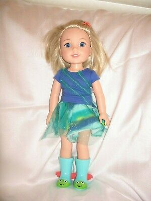 American Girl Wellie Wishers Camille Doll, Complete Doll, Outfit