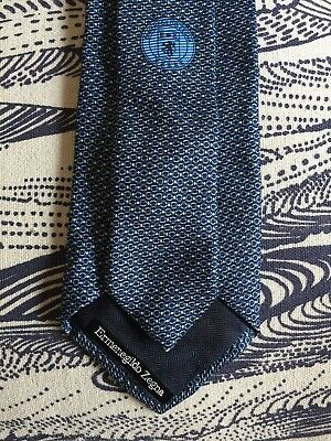 ERMENEGILDO ZEGNA Tie - 8.5cm  Wide - 100% Silk - Made in Italy