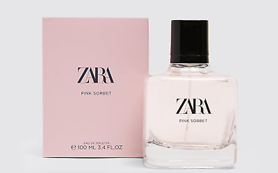 🌸 ZARA WOMEN PINK SORBET NEW COLLECTION EAU DE TOILETTE FRAGRANCE 100ml New🌸