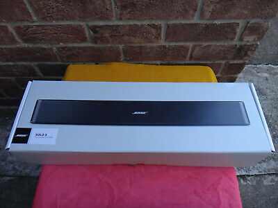 Bose Solo 5 Sound BAR TV Digital Sound System with Bluetooth New-Open Box