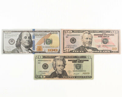 Movie, Music Video, Photo Purposed Prop Money - 100$ 50$ and 20$ Mix Best Price