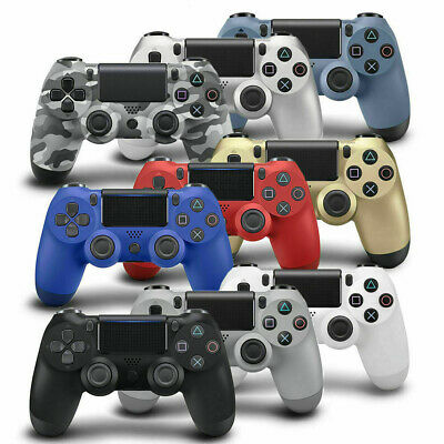 For PS4 PlayStation 4 Wireless Bluetooth Controller Game Gamepad Joystick UK GB