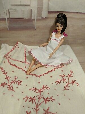 Handmade Barbie Dress For Vintage, Reproduction And Silkstone Dolls