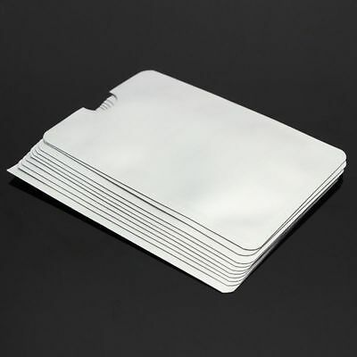 10pc/lot Passport Credit Card RFID Protector Case Blocking Sleeve Shield Holder/