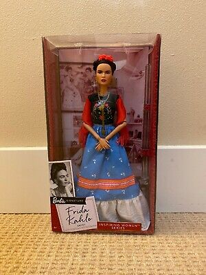 MATTEL Frida Kahlo Barbie Doll Inspiring Women Series Khalo 2018 Limited Edition