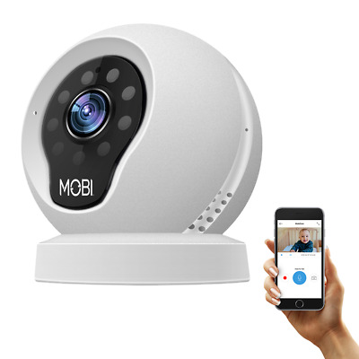 MobiCam Multi-Purpose, Wi-Fi Video Baby Monitor, Baby Monitoring System, Wi-Fi