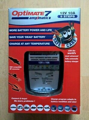 Optimate 7 12V 10A AmpMatic Battery Charger