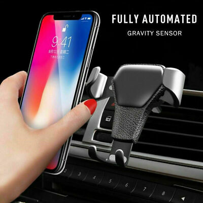Car Air Vent Mount Phone Holder Cradle Gravity Stand for iPhone Samsung LG UK