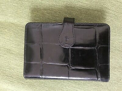 Mulberry Congo Print Black Leather PDA Holder And Wallet