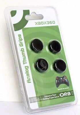 XBOX 360 Controller Thumb Grips 4 x ORB Analogue Stick Cover Cap Extender - New