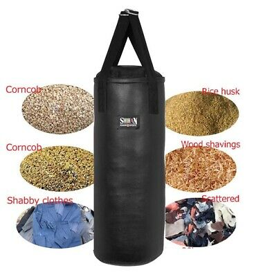 3ft MMA Boxing Punch Bag Kickboxing Bag Sold Unfilled TYSON REXION LEATHER