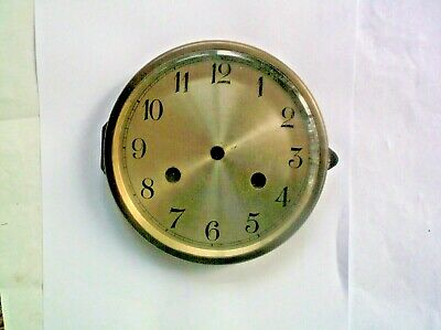 BEVELED GLASS RIM.FACE FROM AN OLD MANTLE CLOCK  5 3/4 inch OUTER diam REF EB14