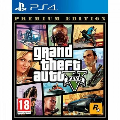 Grand Theft Auto 5 Premium Edition Ps4 Juego FíSico Playstation 4 Gtav Gta5