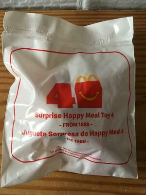 McDonalds 40th Anniversary Mystery 2019 Happy Meal Toy #4 FIREMAN McNugget