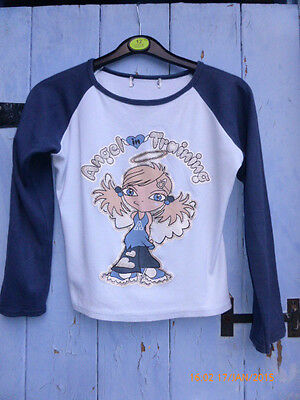 Vintage  Girls T. shirt 9-11 Sophie 100% Cotton.Very Good Condition
