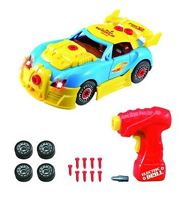 kid child Educaional Assembly Take Apart Car Construction Toy Kit tool Sound boy