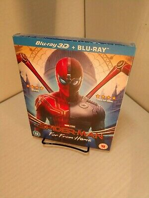 Spider-Man:Far From Home (3D+Blu-ray) Slipcover-NEW (Sealed) Free S&H w/Tracking