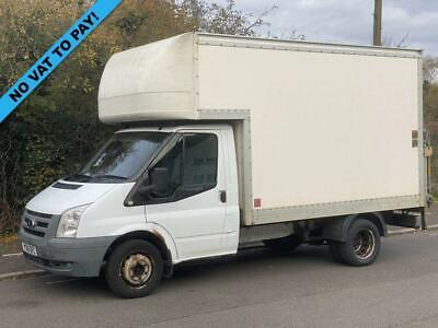 2010 10 Ford Transit 2.4 T330 Limited 115 Bhp 10Ft 6In Mwb Luton Van With Tailli