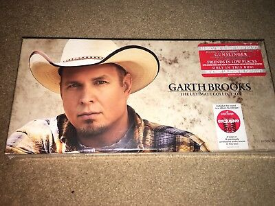Garth Brooks The Ultimate Collection 10 Disc Set Sealed! Great Music!