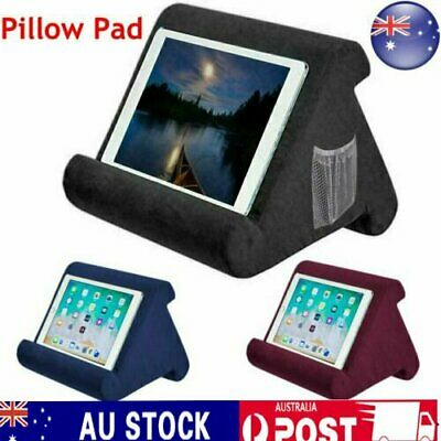 For iPad Foldable Laptop Tablet Pillow PC Holder Rest Reading Cushion Pad DM