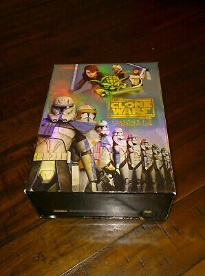 Star Wars: The Clone Wars Seasons 1-5 Complete Collector's Edition Blu ray dvd