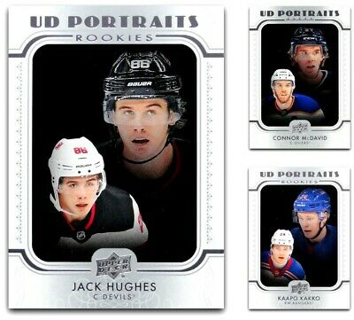 2019-20 UD Portraits Series 1 & 2 **** PICK YOUR CARD **** From The LIST