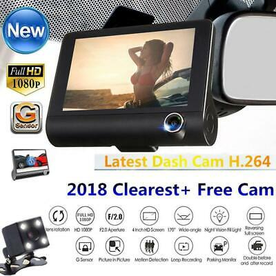 "Perfect 4"" Car Rear View Reverse Backup Camera HD1080P Parking Dash Cam 170º"
