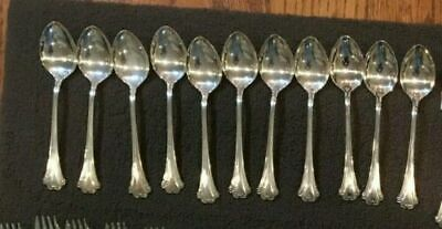English Chippendale Reed Barton Sterling Silver 16 Oval Dessert Soup $ each