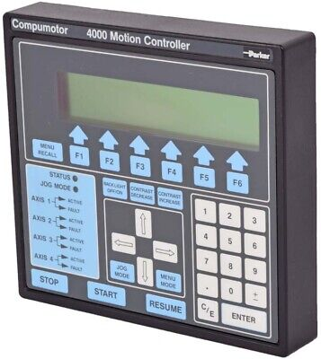 Parker CP4000 Compumotor 4000 Motion Controller Operator Panel