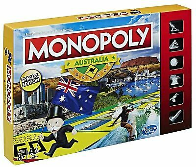 Kids Toys Monopoly Family Board Card Game Boys Toy Games Xmas Christmas Gifts AB