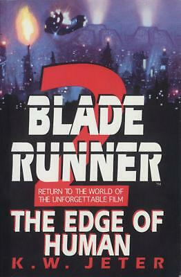 Blade Runner 2 by K.W. Jeter (English) Paperback Book Free Shipping!