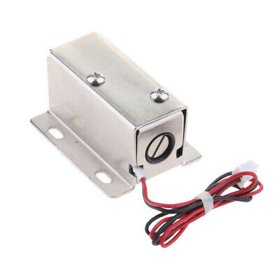 Universal Mini Electric Magnetic Lock 24V 0.52A for Door Gate Cabinet Locker