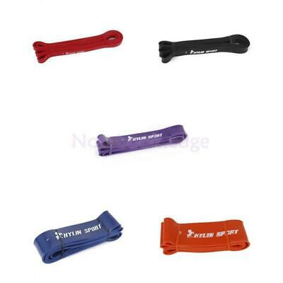 Stretch POWER Heavy Duty RESISTANCE BAND Gym Yoga LOOP Exercise Fitness Workout