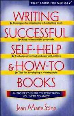 Writing Successful Self-Help and How-To Books by Jean Stine (English) Paperback