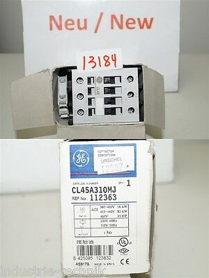 CL45A310MJ Protective 18 Kw Contactor 110v