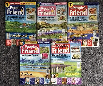 THE PEOPLE'S FRIEND Magazine 5 Issues March 2019